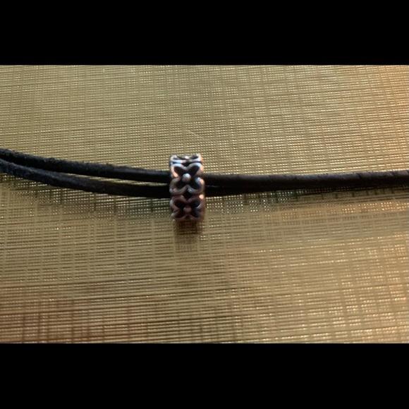 Authentic Pandora bead charm spacer